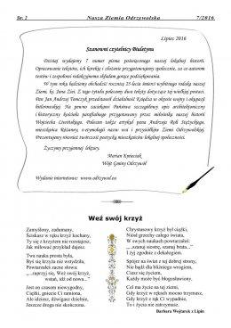 Nasza Ziemia Odrzywolska Nr 7 strona 2
