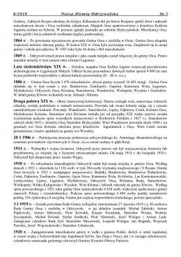 Nasza Ziemia Odrzywolska Nr 8 strona 5