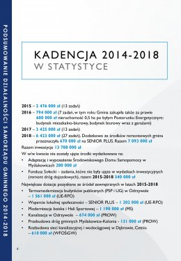 Podsumowanie kadencji 2014-2018 strona 4