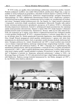 Nasza Ziemia Odrzywolska Nr 1 strona 6