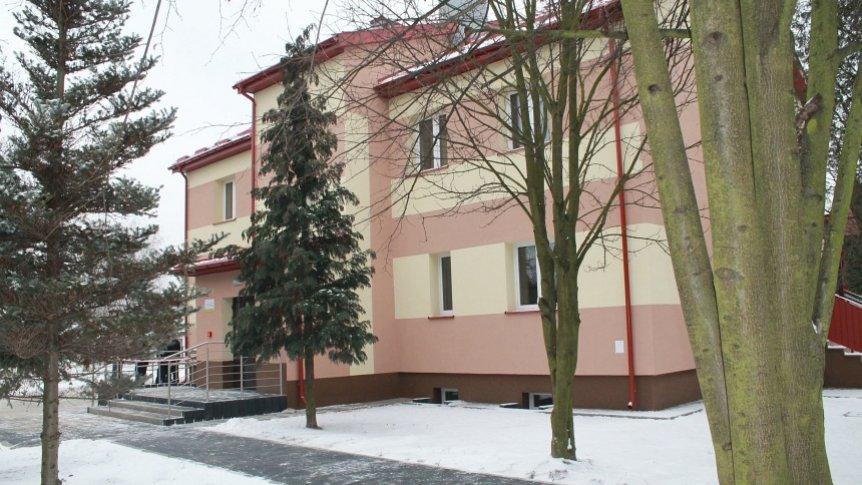 Budynek Dziennego Domu SENIOR+.