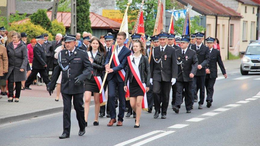 Uroczystość Święta Konstytucji 3-Maja i Dzień Strażaka w Odrzywole