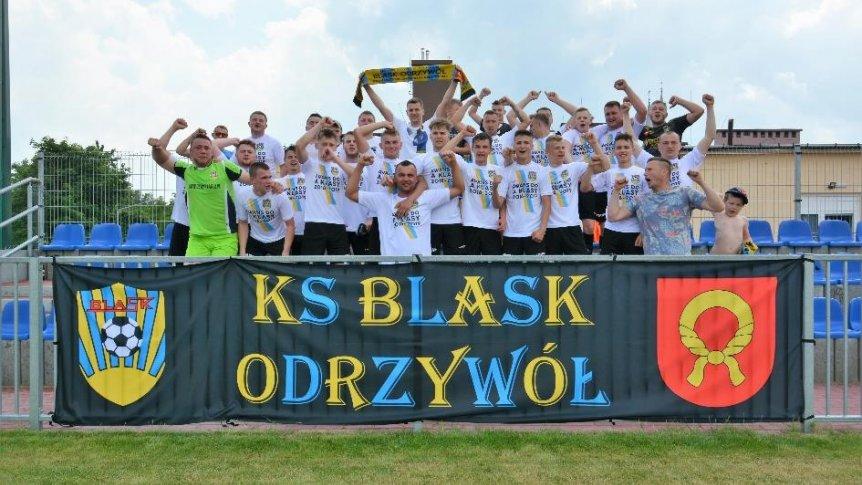 KS Blask Odrzywół awansował do klasy A  rozgrywek piłkarskich  regionu radomskiego.