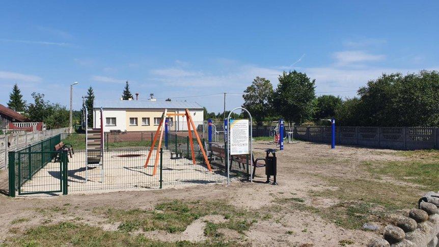 Otwarta Strefa Aktywności (OSA) w Kłonnie jest już oddana do użytku.