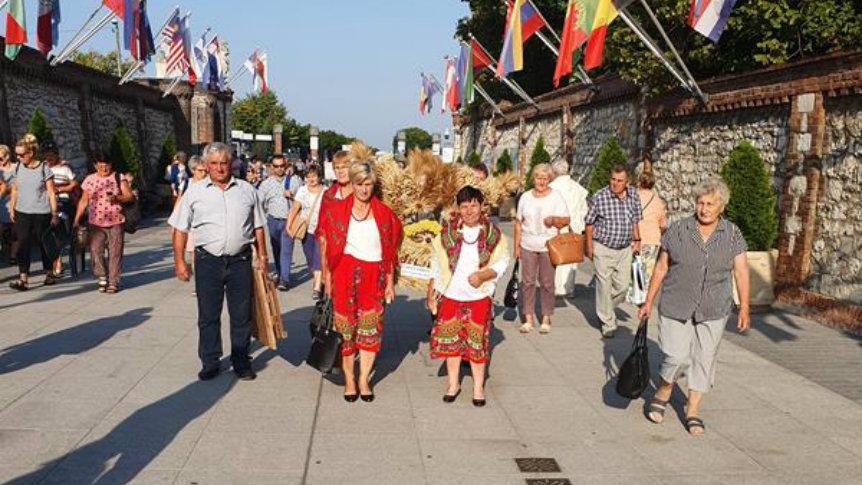 Delegacja gminy Odrzywół uczestniczyła w Dożynkach na Jasnej Górze