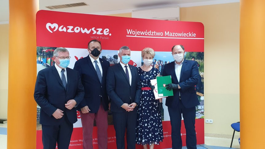 Gmina Odrzywół otrzymała dotację na realizację małych projektów  w Sołectwach.