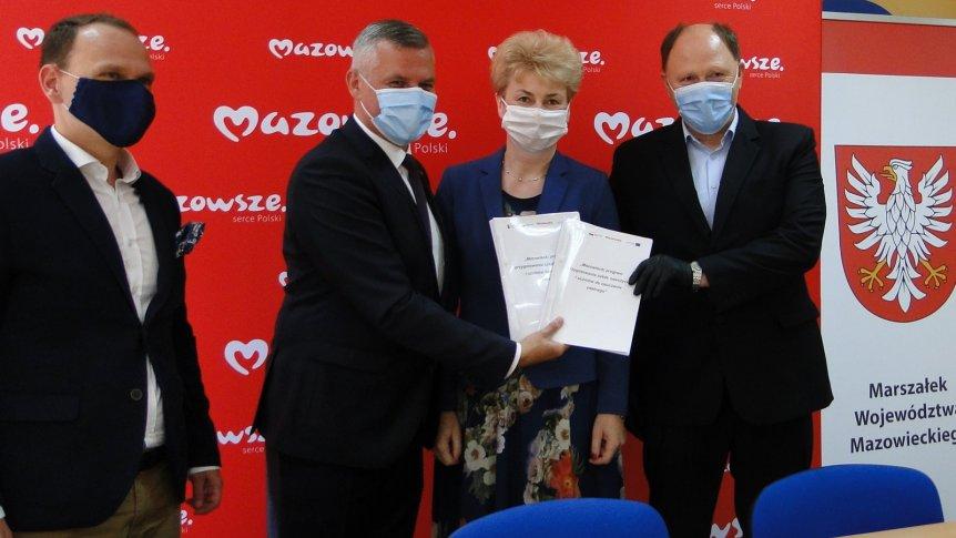 Prawie 120 tys. zł z projektu Województwa Mazowieckiego dla Publicznej Szkoły Podstawowej w Odrzywole.