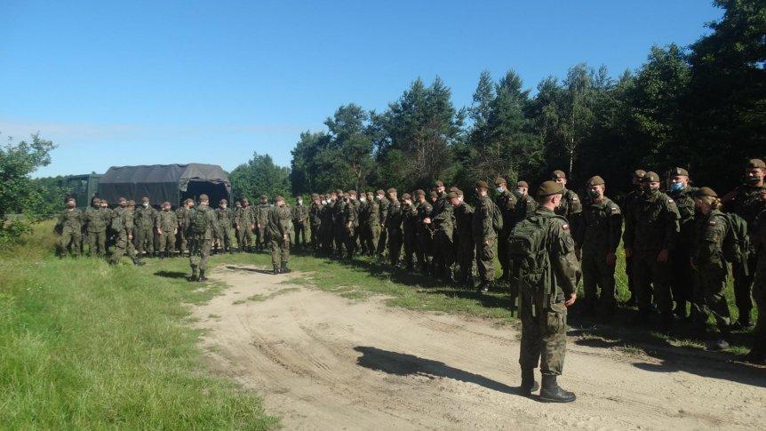 Żołnierze WOT ćwiczyli w Odrzywole