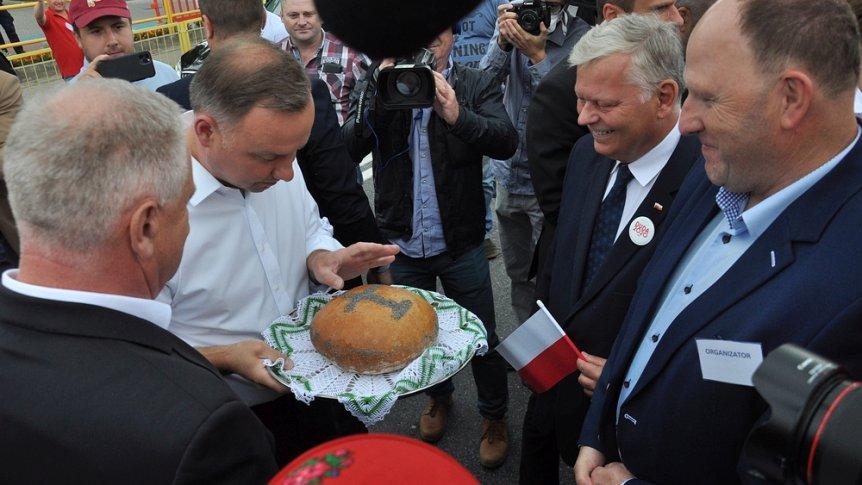Prezydent z wizytą w Odrzywole