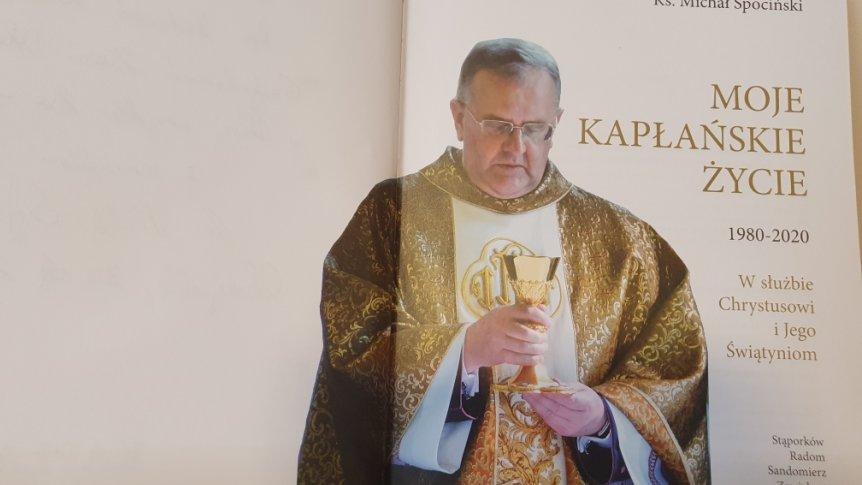 40-lecie kapłaństwa rodaka z Odrzywołu ks. Michała Spocińskiego