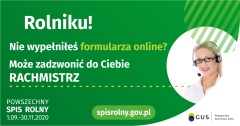SPIS ROLNY PRZEZ TELEFON
