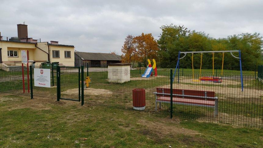 W Odrzywole powstał plac zabaw dla maluchów.