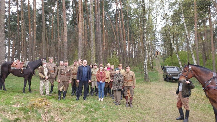 Ułani ze Stowarzyszenia im. Wydzielonego Oddziału WP mjr Hubala przebywali w gminie Odrzywół.