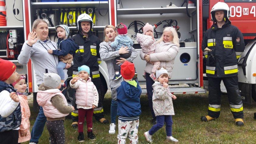 Wizyta strażaków w Klubie Malucha