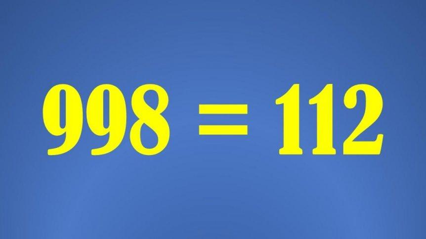 Przełączenie numeru alarmowego 998 do Centrum Powiadamiania Ratunkowego.