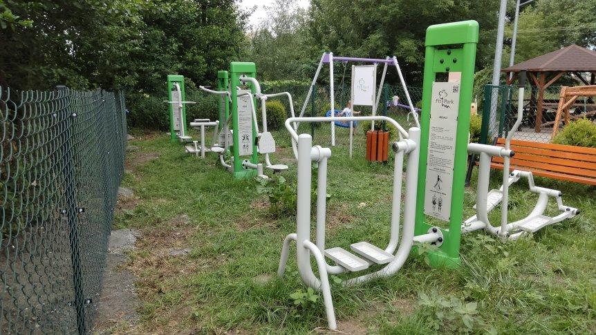 Nowe siłownie napowietrzne w gminie Odrzywół